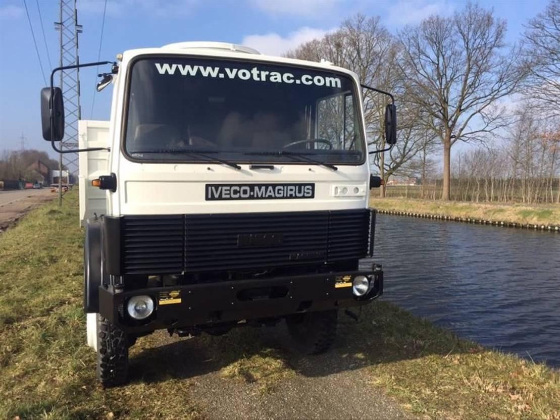 leger vrachtwagen Iveco Magirus 110-17