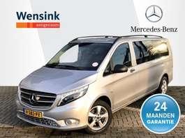 gesloten bestelwagen Mercedes Benz Vito 119 CDI 190 pk XL 4x4 4-matic Dubbele Cabine   LED-Lampen, Navi, Cl... 2018