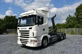 roro trekker Scania R440 Abrollkipper MEILLER 6x2 lenk-lift 7m Cont.