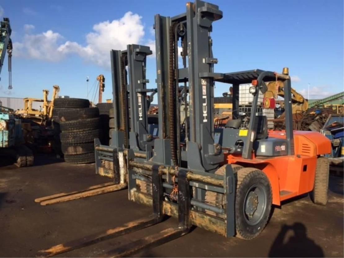 vorkheftruck Heli ** 10 Tons Diesel Forklift ** 2014
