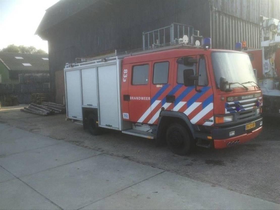 brandweerwagen vrachtwagen DAF 46-160 1992