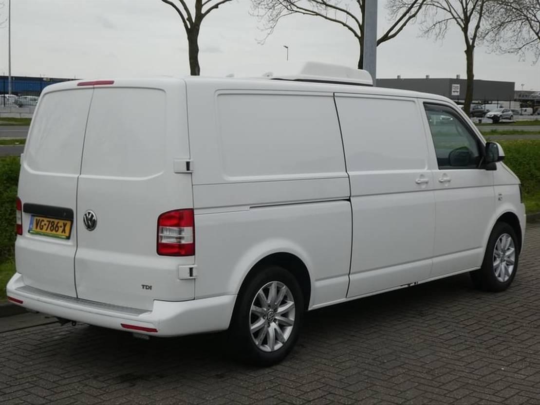 koelwagen bestelwagen Volkswagen TRANSPORTER 2.0 TDI lang koeling konvekt 2014