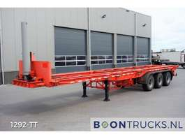 containersysteem oplegger Pacton 40-30-20 ft TIPPER * STEEL SUSPENSION 1989