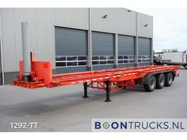 container chassis oplegger Pacton 3139-C-4-K | 20-30-40ft TIPPER * STEEL SUSPENSION 1989