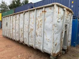 open top zeecontainer Winters Afvalcontainer 40m³