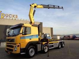 containersysteem vrachtwagen Volvo FM 460 + NCH + Manual + PTO + Palfinger Crane + euro 5 + Remote 2009