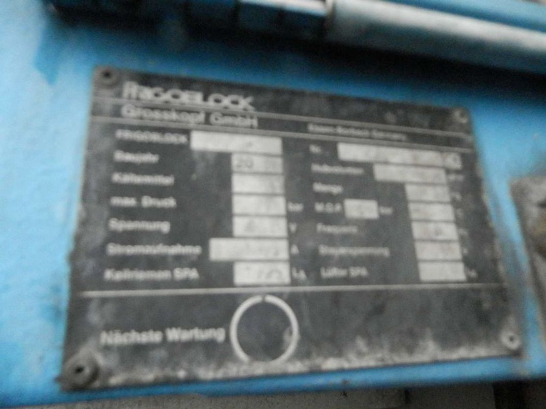 gesloten opbouw oplegger Bodden 1-assige oplegger 2002