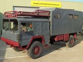 leger vrachtwagen MAN Camper 1977