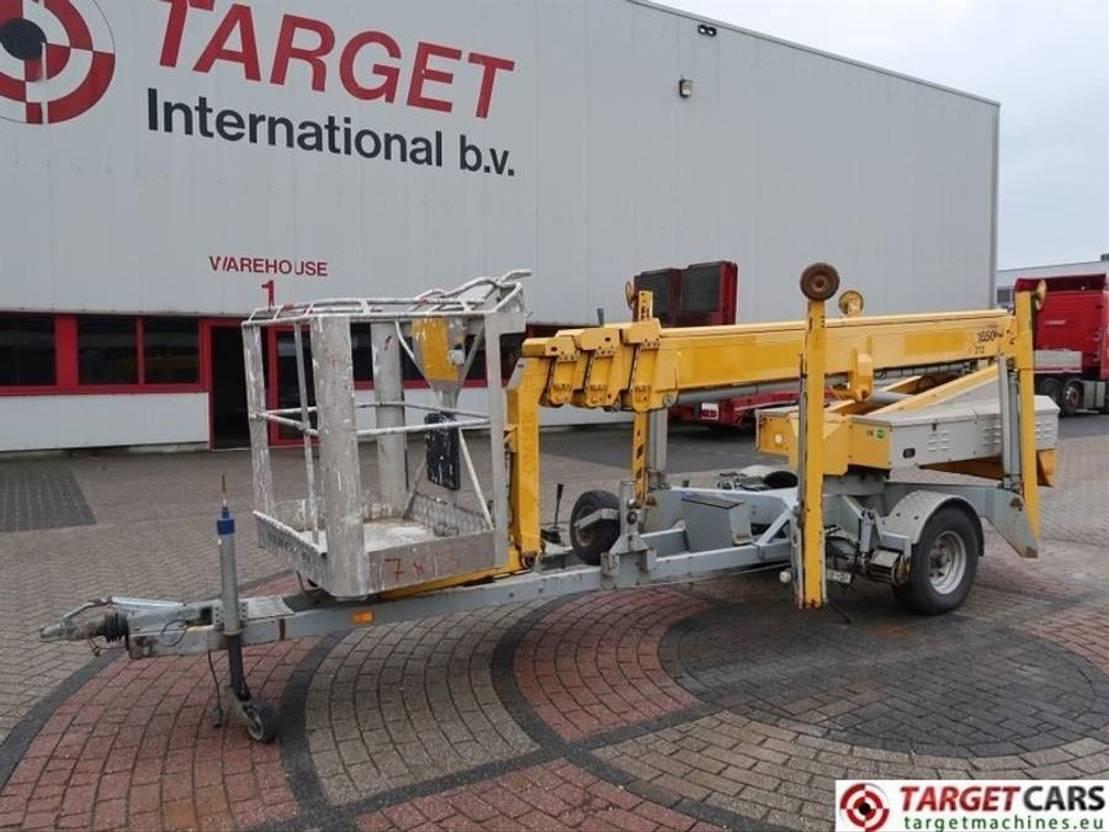 hoogwerker aanhanger Omme 1650EBZ Telescopic Trailer Boom Work Lift 1650cm 2006