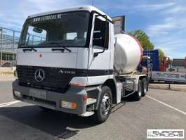 betonmixer vrachtwagen Mercedes Benz Actros 2640 Full Steel - Manual - French truck 1998