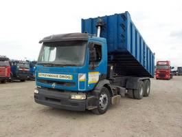 kipper vrachtwagen > 7.5 t Renault Premium 385 (6X4 / LAMES / POMPE MANUELLE / GRAND PONTE) 1997