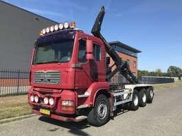 containersysteem vrachtwagen MAN TGA 35.480 8X4 TRIPPEL !!! LEEBUR 30 TONS HAAK 2007