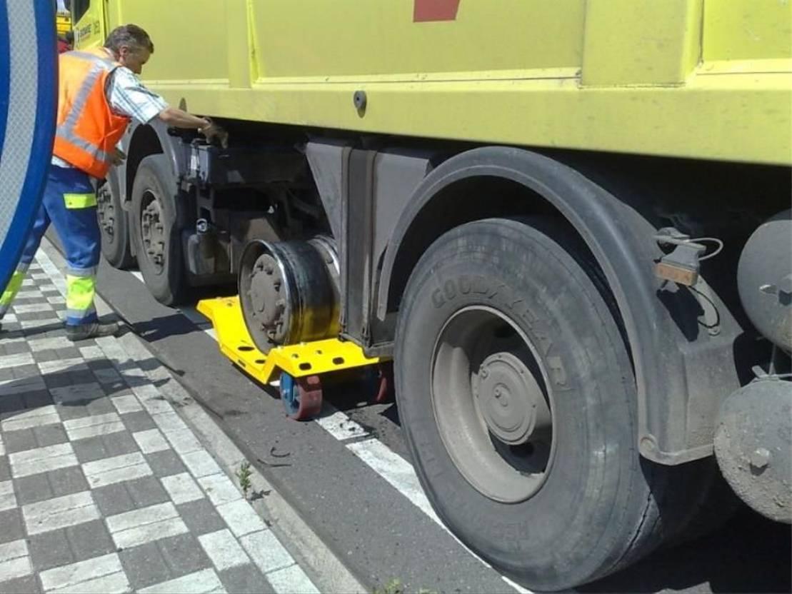 takelwagen-bergingswagen-vrachtwagen Diversen Wieldolly Vrachtwagens 2021