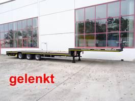 dieplader oplegger Möslein ST 3-Plato 9,4  3 Achs Satteltieflader Plato 45 t GGfür Fertigteile, Bauma 2020