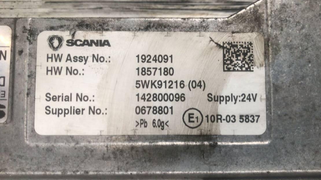 Motor vrachtwagen onderdeel Scania ECU DC13147 R450 euro6 1924091  1857180