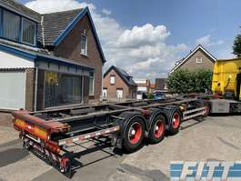 containersysteem oplegger Pacton 3ass container chassis 2009