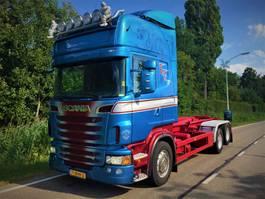 containersysteem vrachtwagen Scania Scania 6x2  R730 haaksysteem 2011