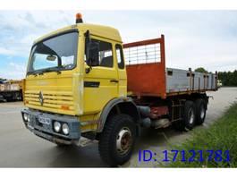 kipper vrachtwagen > 7.5 t Renault G300 - 6x4 1991