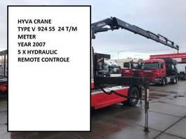 Kraanarm vrachtwagen onderdeel Hyva V924 5S V924  5S  REMOTE CONTROLE 2007