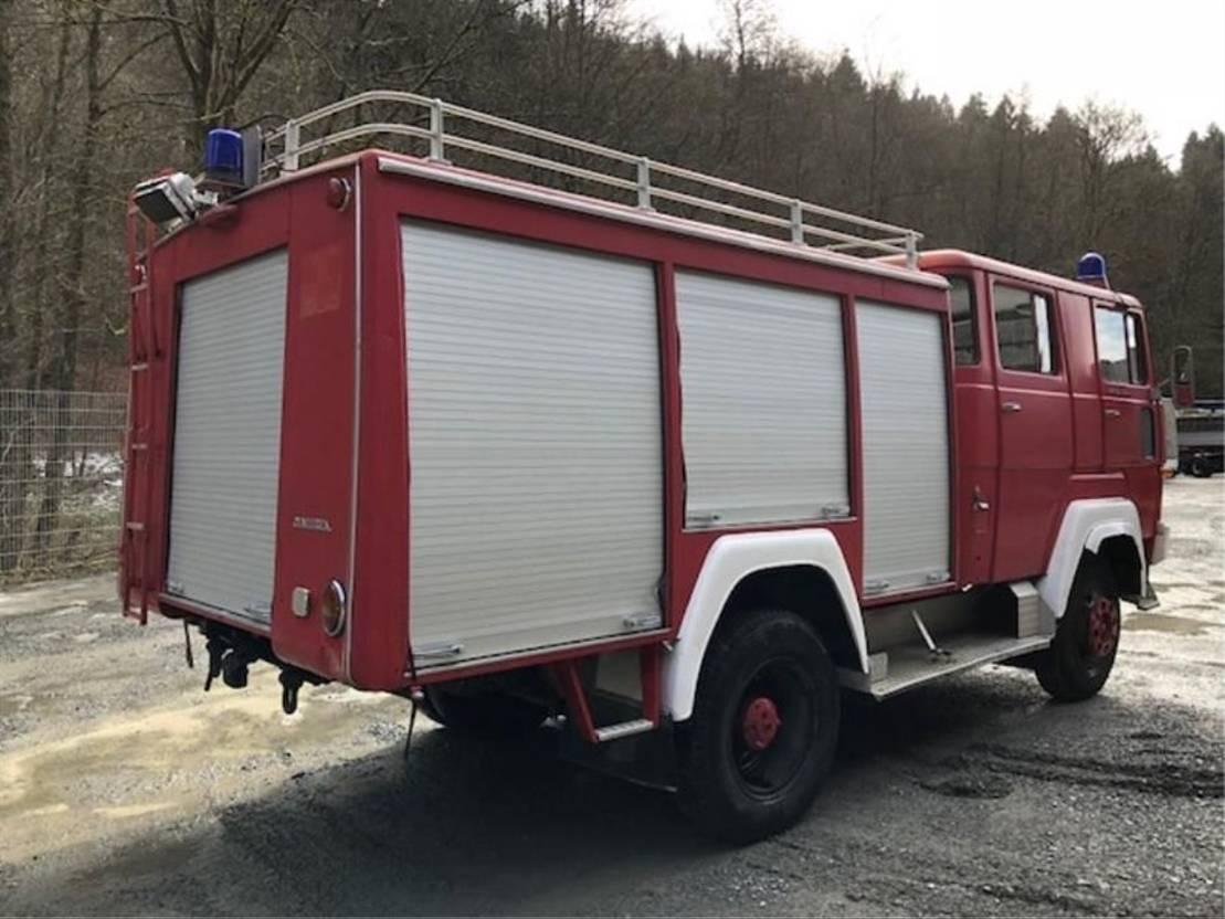 brandweerwagen vrachtwagen Diversen MAGERIUS FM 170 D 11 FA ** Tanklöschfahrzeug ** 1972
