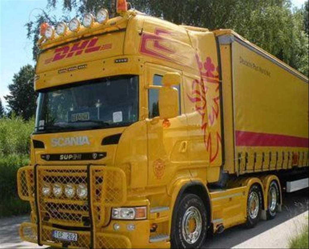 chassis vrachtwagen onderdeel Scania Zonneklep R serie 4 serie Topline