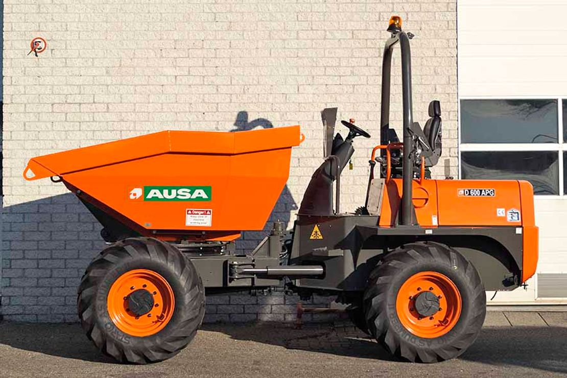 wieldumper Ausa D600APG 4X4 SIDE DUMPER (2 units)