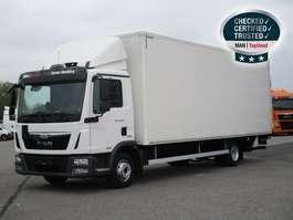 bakwagen vrachtwagen MAN TGL 12.250 4X2 BL, Euro 6, Koffer, LBW, AHK 2016