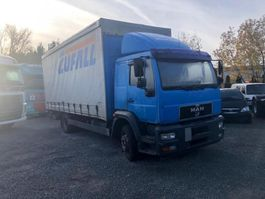 schuifzeil vrachtwagen MAN 12.280 2004
