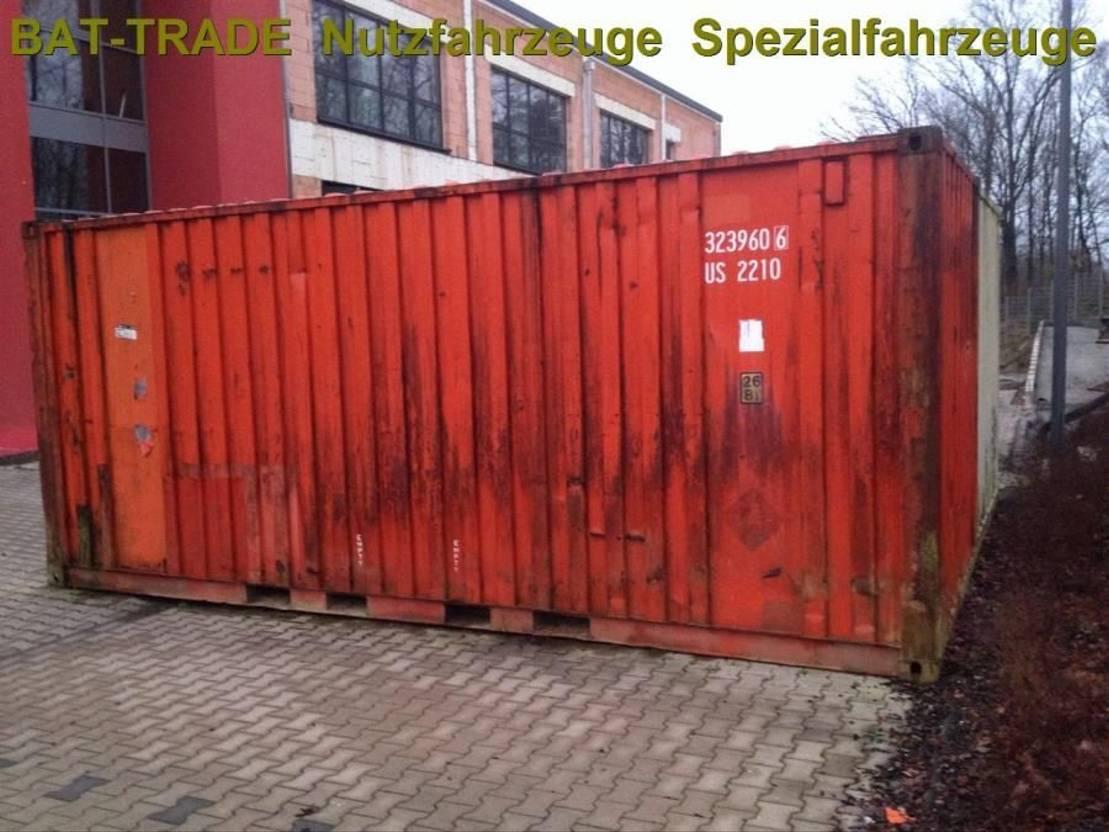 dry standaard zeecontainer Diversen Seecontainer Container 20 ft - Fuss- 6m Lagerraum