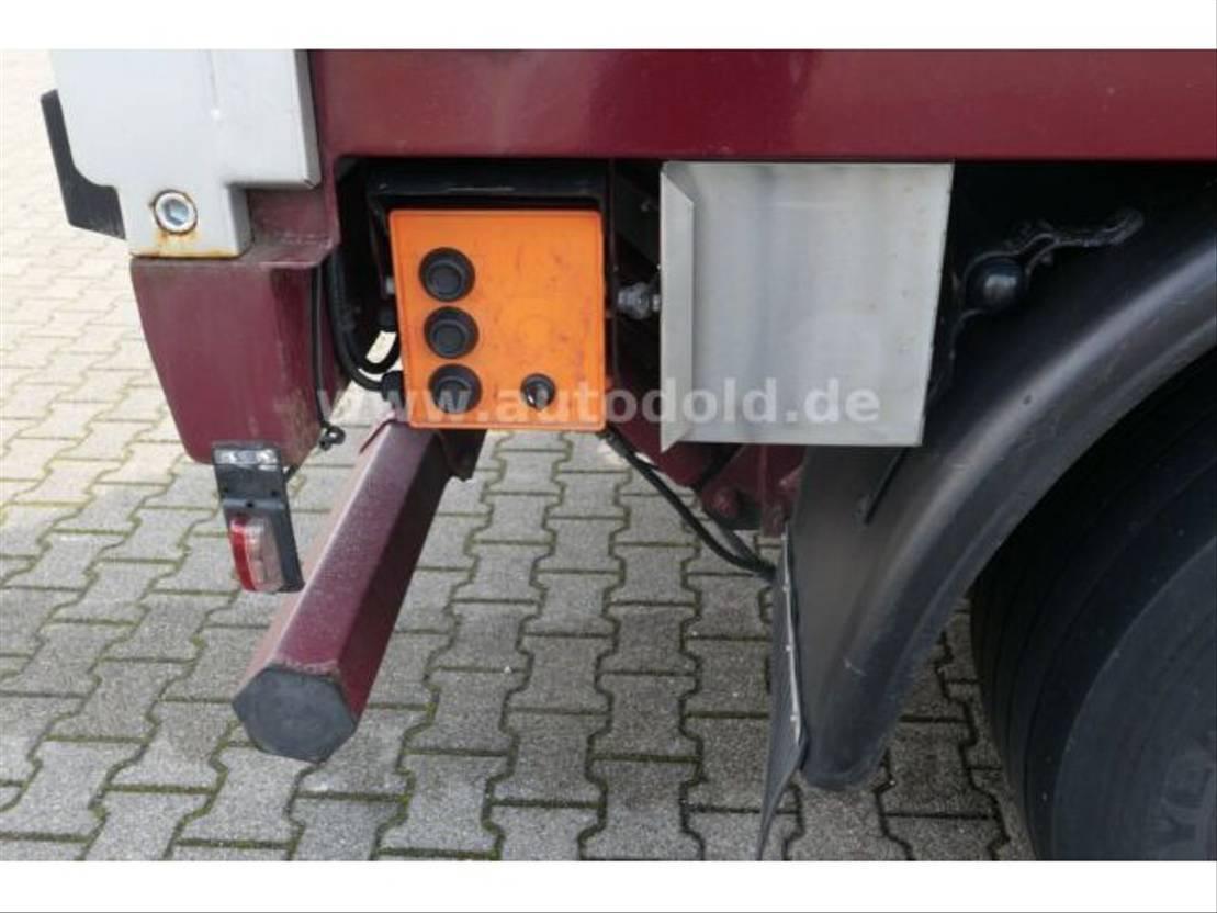 huifzeil aanhanger Lanz +Marti Luftgefedert Bordwände Durchlade LBW 2009