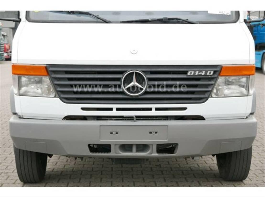 koelwagen bestelwagen Mercedes Benz VARIO 814D Tiefkühlkoffer Kühler Fleischbahnen 2004