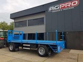 platte aanhanger vrachtwagen agpro 2as agpro 2019
