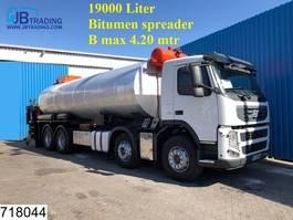tankwagen vrachtwagen Volvo FM13 380  Bitum spreader, 8x2, EURO 5, Steel suspension, Acmar 19000 Lit... 2011