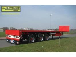 platte aanhanger vrachtwagen HRD 3-Achs-Tele-Plateau-Auflieger