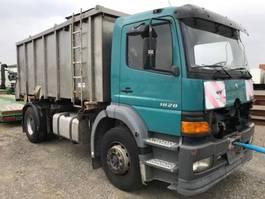 containersysteem vrachtwagen Mercedes Benz Atego 1828 4x2 Absetzkipper V4A Motorschaden 2000