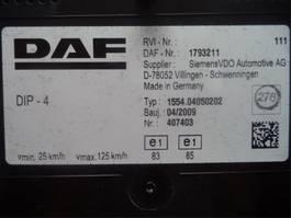 Cabinedeel vrachtwagen onderdeel DAF Instrument panel 2009
