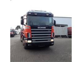 tankwagen vrachtwagen Scania 420/124L 1999
