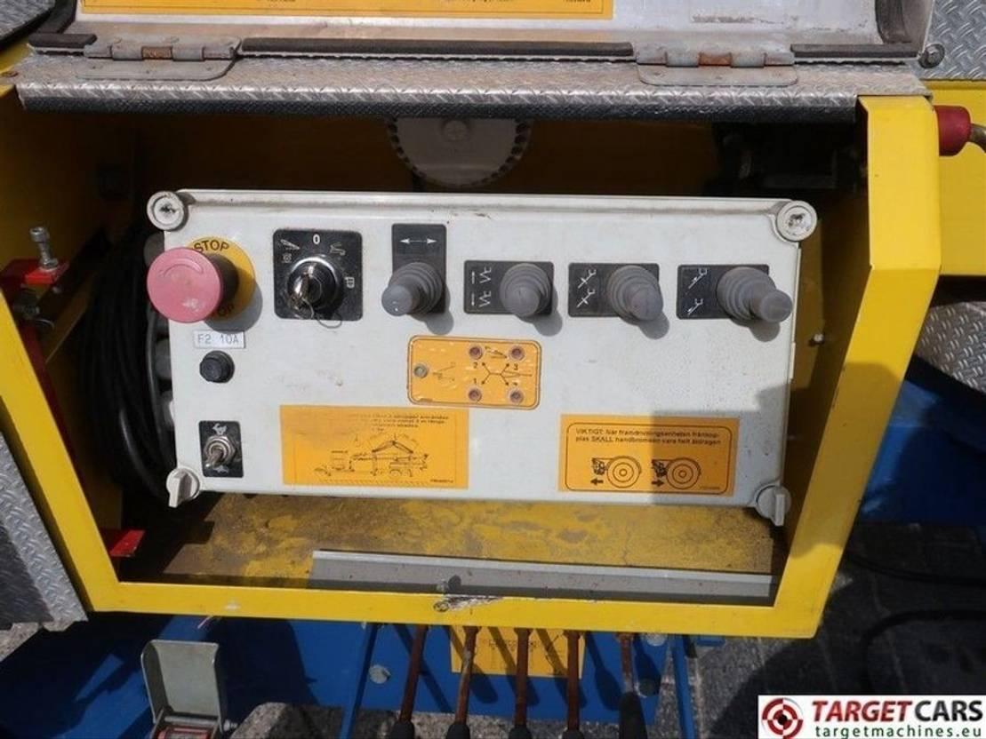 hoogwerker aanhanger DIV. Omme 1550EBZX Towable Articulated Boom Work Lift 1530cm 2008