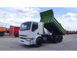 kipper vrachtwagen > 7.5 t Renault Premium 340 (GRAND PONT / SUSPENSION LAMES / POMPE MANUELLE) 2004