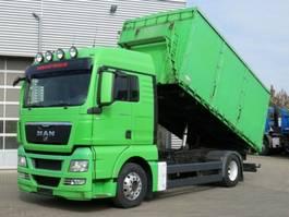 silo vrachtwagen MAN TG-X 18.440 4x2 2-Achs Kipper Heitling