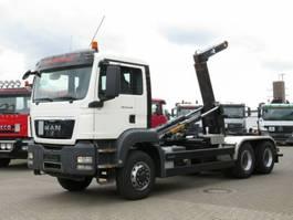 containersysteem vrachtwagen MAN TG-S 26.440 6x6H Abrollkipper Pritarder