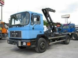 containersysteem vrachtwagen MAN F90 18.232 F Abrollkipper Atlas