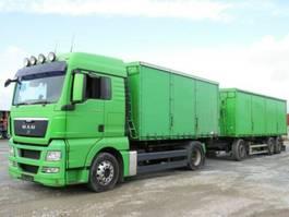 silo vrachtwagen MAN TG-X 18.440 Getreidekipper + Anhänger komplett!