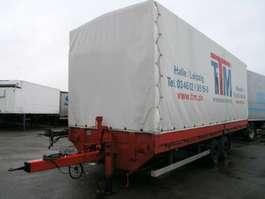 huifzeil aanhanger TPA 105 Tand. Pritsche+Plane 7.950 kg Nutz!