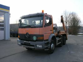 containersysteem vrachtwagen Mercedes Benz Atego 2528  6x2  Lift-Lenk !! TÜV NEU !!GERGEN 1999