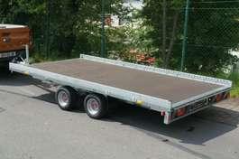 platte aanhanger vrachtwagen Stema Carrier XL Plattformanhänger Minibagger 2019