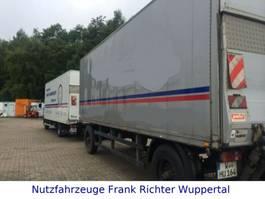 bakwagen aanhangwagen Kofferanhänger mit LBW, gute Bereifung