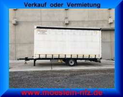 huifzeil aanhanger Möslein PR 1 A Schwebheim  1 Achs Planenanhänger 2013