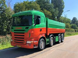 kipper vrachtwagen > 7.5 t Scania Scania R500 8x4 kipper manual airco 2008