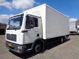 bakwagen vrachtwagen MAN TGL 8.180 + Manual + Lift 2007